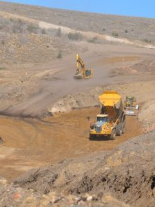 Foundation Civil and Mining project
